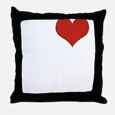 I love Malibu Throw Pillow