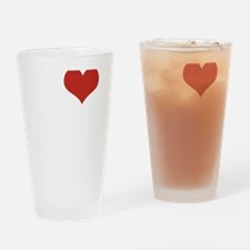 I love Malibu Drinking Glass