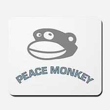 PEACE MONKEY Mousepad