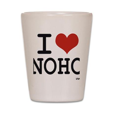 I love Noho Shot Glass