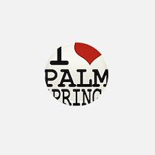 I love Palm Springs Mini Button