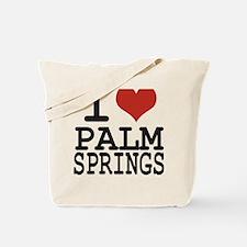 I love Palm Springs Tote Bag