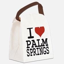 I love Palm Springs Canvas Lunch Bag