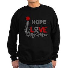 D Hope For My Mom Brain Tumor Jumper Sweater