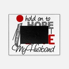 D Hope For My Husband Brain Tumor Picture Frame