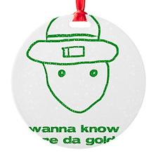 leprchaungoldatgrn Ornament