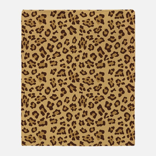 Cheetah Throw Blanket