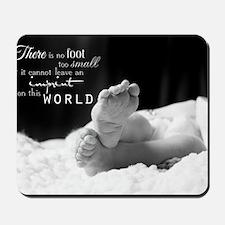 footprint Mousepad