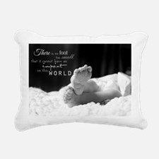 footprint Rectangular Canvas Pillow