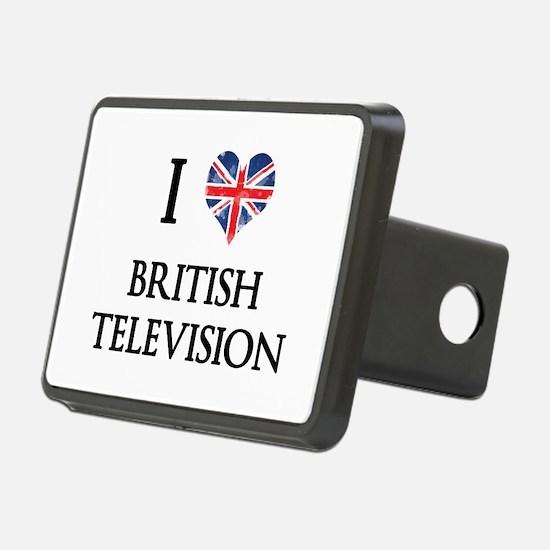 I Love British Television Hitch Cover