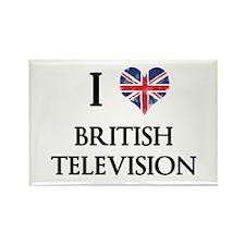 I Love British Television Magnets