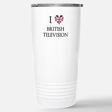 I Love British Television Travel Mug