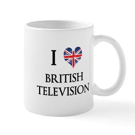 I Love British Television Mugs
