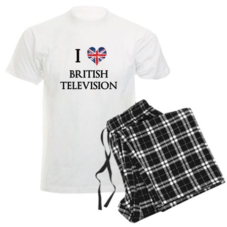 I Love British Television Pajamas