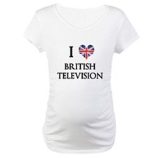 I Love British Television Shirt