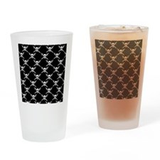 Jolly Roger Drinking Glass