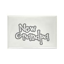 New Grandpa Rectangle Magnet