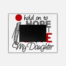D Hope For My Daughter Brain Tumor Picture Frame