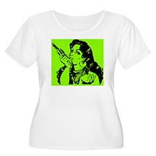 grrr-tile-gre T-Shirt