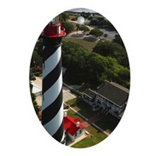 St Augustine Lighthouse 8b Plus Oval Ornament