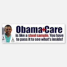 Obamacare Stool Sample Bumper Bumper Sticker