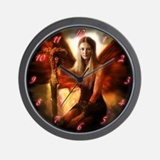 Maiden of the Sun Wall Clock