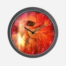 Maiden of Fire Wall Clock