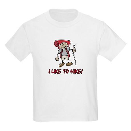 I Like to Hike Kids T-Shirt