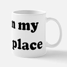 I am in my happy place Mug