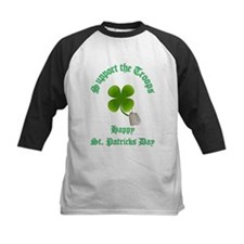 support the troops HAPPY SAIN Tee