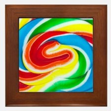 Lollipop Framed Tile