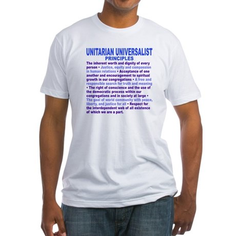 UU PRINCIPLES Fitted T-Shirt