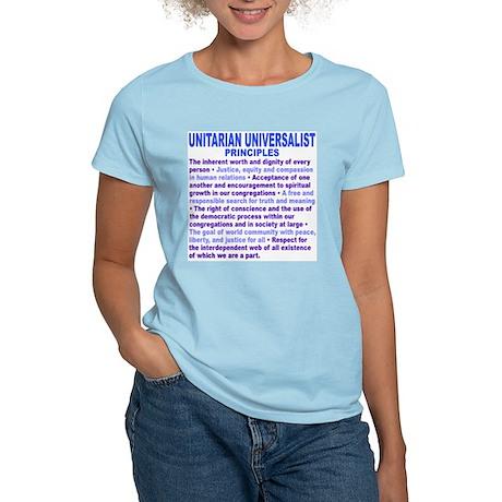 UU PRINCIPLES Women's Light T-Shirt