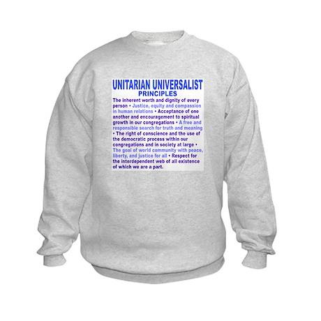 UU PRINCIPLES Kids Sweatshirt