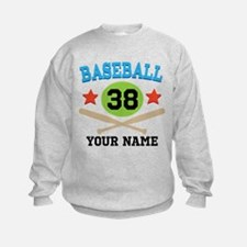 Personalized Hockey Player Number Sweatshirt
