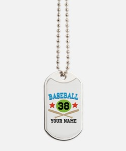 Personalized Hockey Player Number Dog Tags