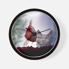 Fishy Wishes Wall Clock