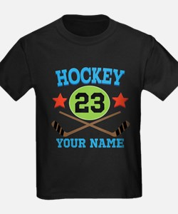 Personalized Hockey Player Number T