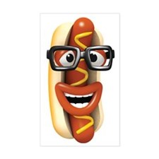 3d-hotdog-glasses Decal