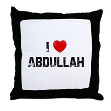 I * Abdullah Throw Pillow