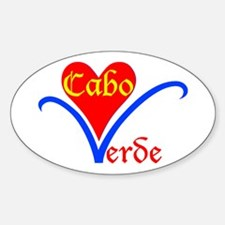 Cabo Verde Flower Decal
