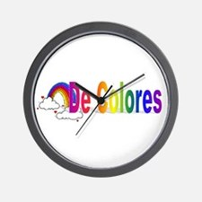 De Colores Wall Clock