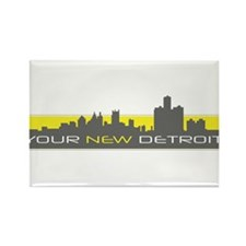 Cool New your city Rectangle Magnet