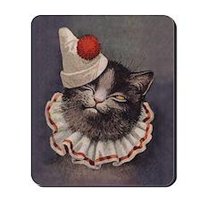 Clown Cat Mousepad
