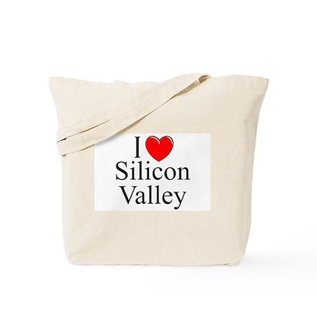 """""""I Love Silicon Valley"""" Tote Bag"""
