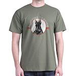 Scottish Terrier Scotty Dark Colored T-Shirt