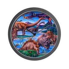 Dinosaurs Wall Clock