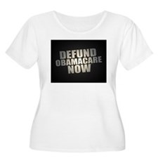 Defund Obamacare Now Plus Size T-Shirt