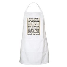 Family Rules God Apron