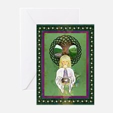 The Grail Maiden Greeting Cards (Pk of 10)